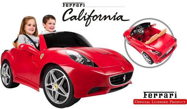 Ferrari California - электромобиль для детей