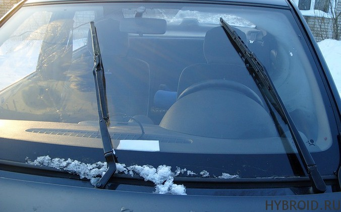 Сломались дворники в машине