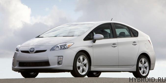 Toyota Prius: первый гибридный автомобиль