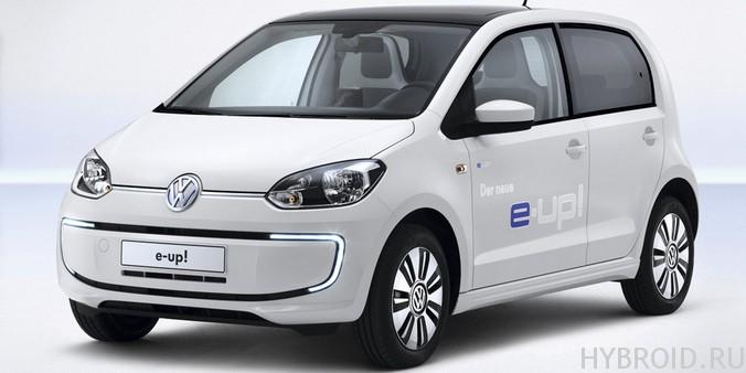 Volkswagen e-UP! - максимальная скорость 140 км/ч