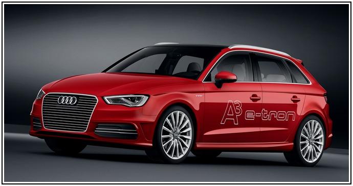 Новый гибридный автомобиль Audi A3 e-tron