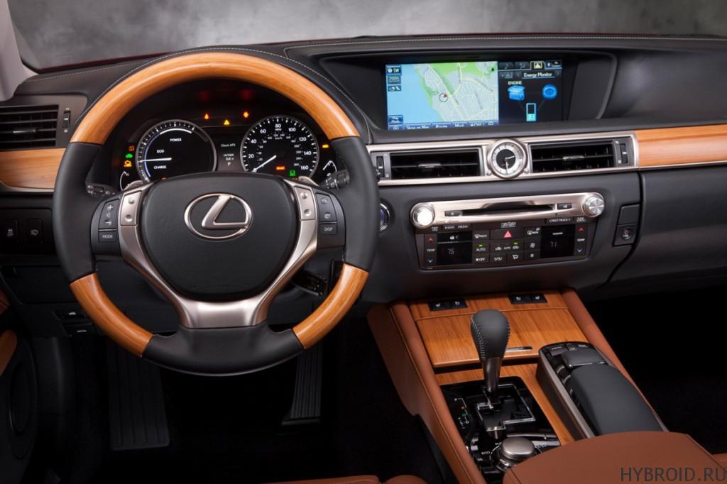 Приборная панель Lexus GS 450h
