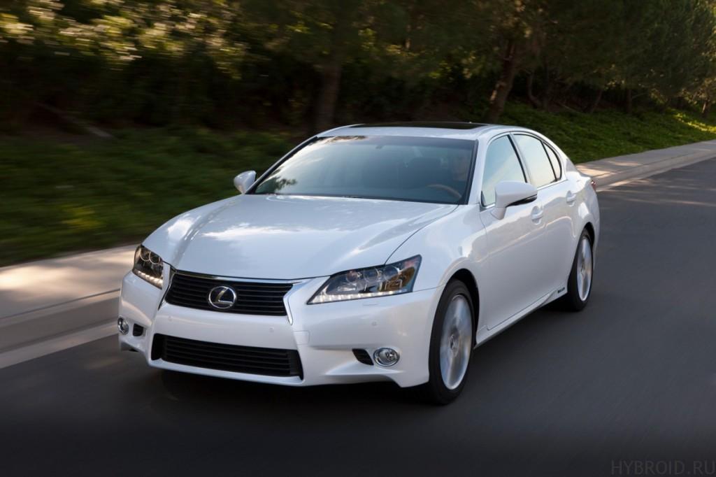 Совершенно новый дизайн в Lexus GS 450h