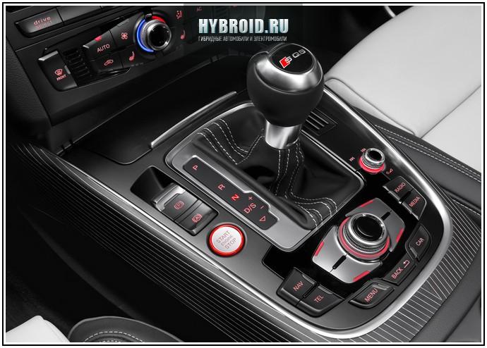 Коробка передач на  Audi Q5 hybrid