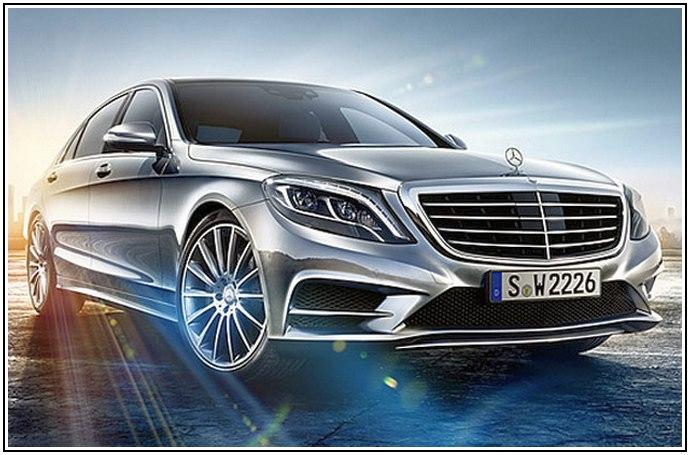 Тизер нового купе S-Class от концерна Mercedes-Benz