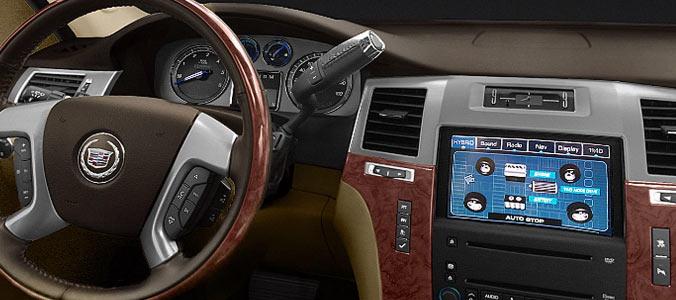 Салон Cadillac Escalade Hybrid