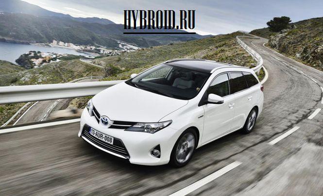 Toyota запускает производство нового гибридного Auris Touring Sport