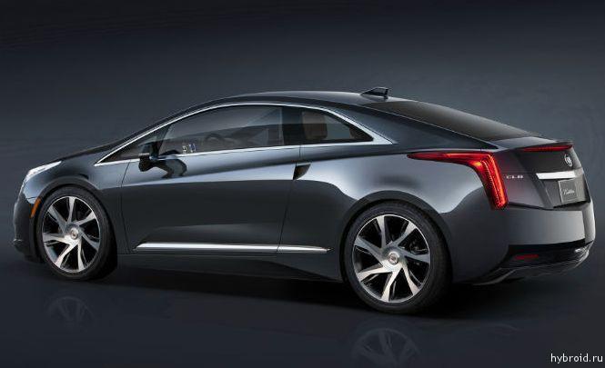 Cadillac улучшенную версию 2014 ELR