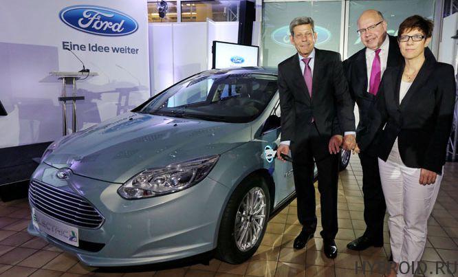 Focus Electric начинается производство в Европе