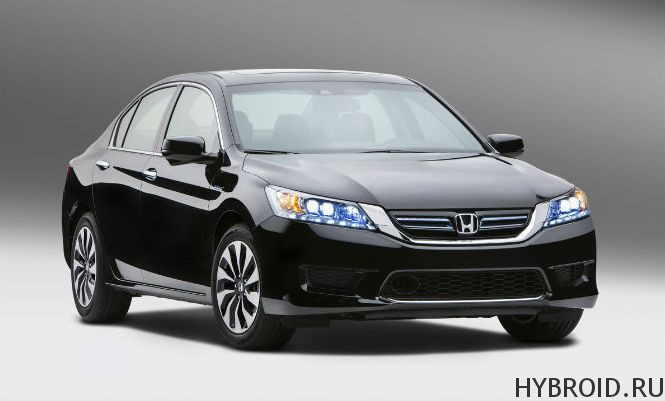 Гибридная Honda Accord 2014