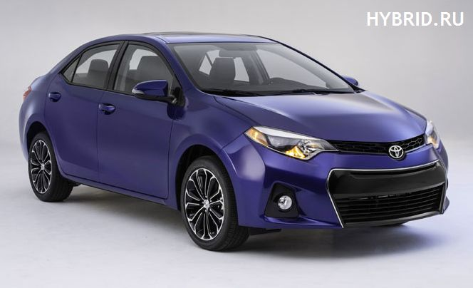 Новая Corolla 2014