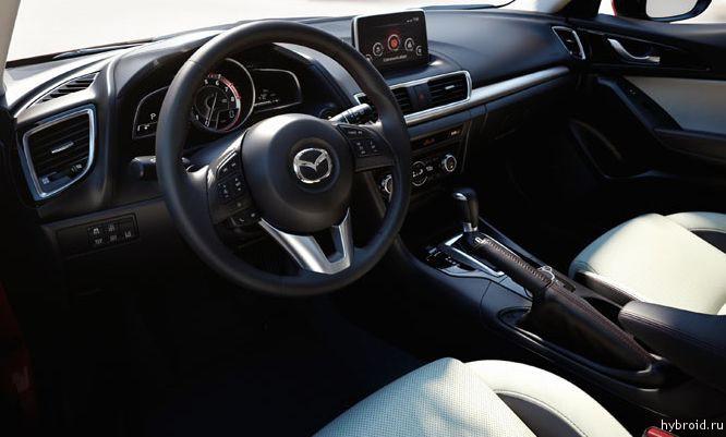 Салон 2014 Mazda3