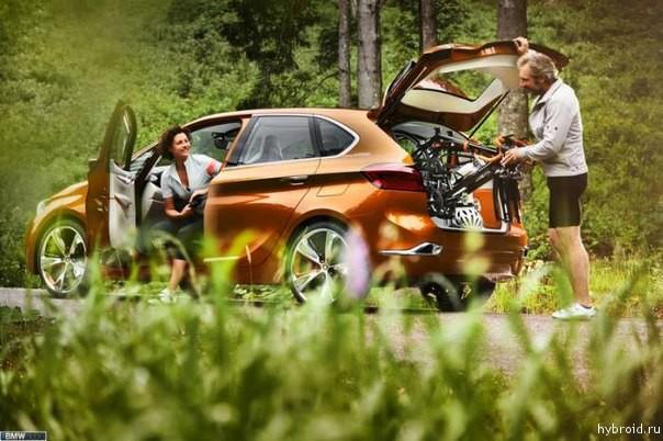 Active Tourer Outdoor - автомобиль для активных людей
