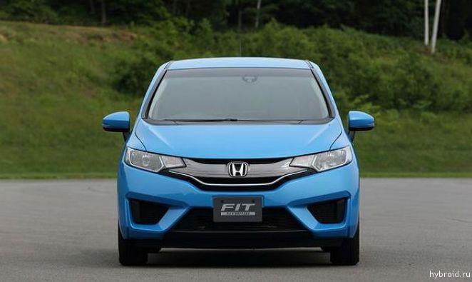 Гибридная версия - Honda Fit