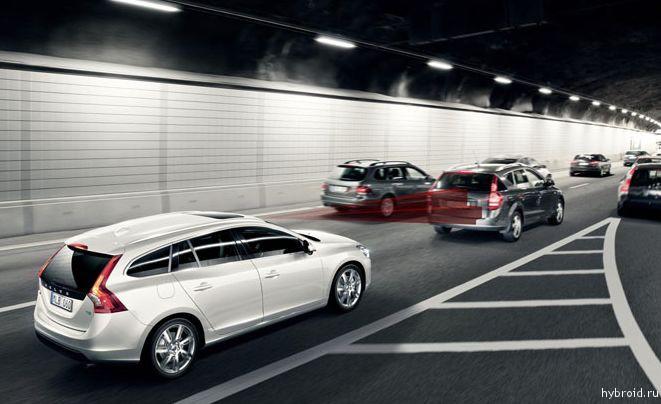 Умные автомобили Volvo