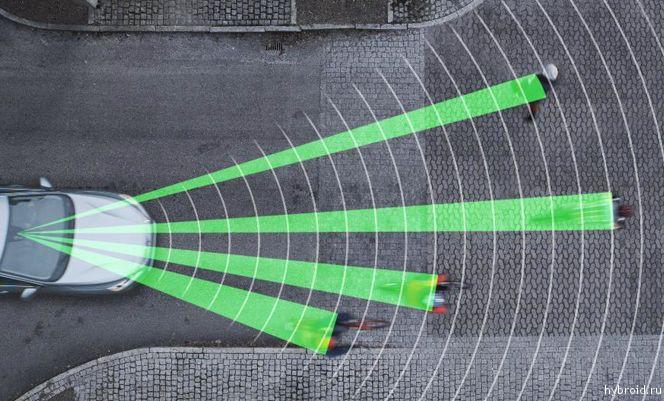 Безопасная технология City Safety  от Volvo