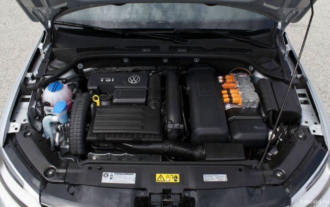 Двигатель Volkswagen Jetta Hybrid