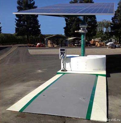 EV ARC - зарядные станции для электромобилей
