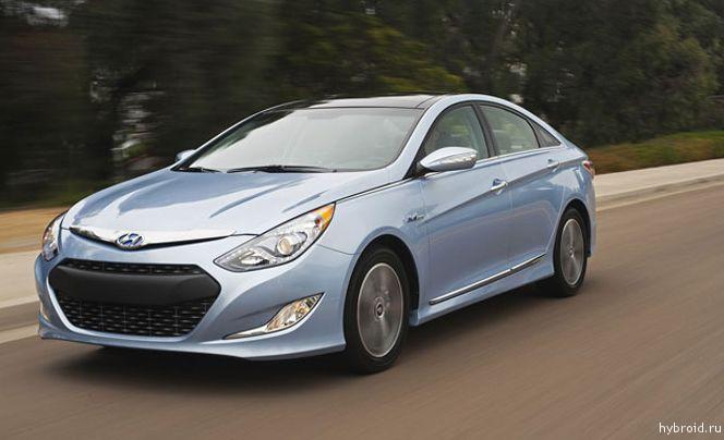 Обзор автомобиля: Hyundai Sonata Hybrid 2012