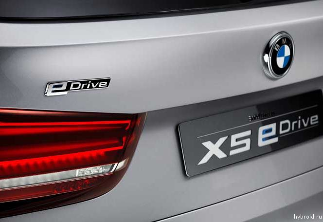 Презентация BMW Concept X5 eDrive