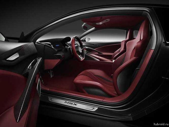 Презентация суперкара Acura NSX
