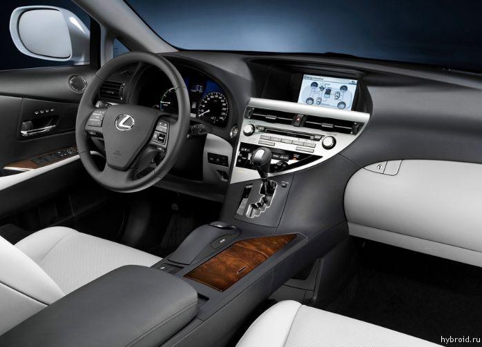 Салон Lexus RX 450h