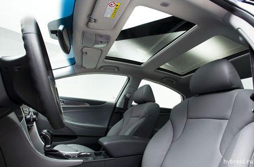 Салон - Hyundai Sonata гибрид
