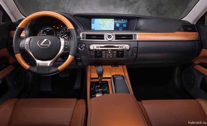 Внутренняя отделка Lexus GS Hybrid признана одной из лучших