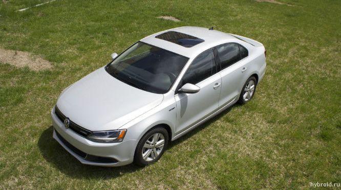 Volkswagen Jetta Hybrid дизайн автомобиля