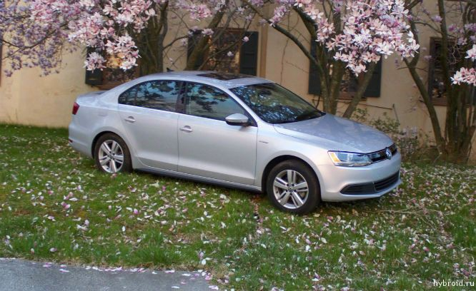 Большой обзор - Volkswagen Jetta Hybrid