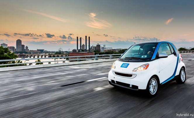 car2go создали новую сеть в Миннеаполисе