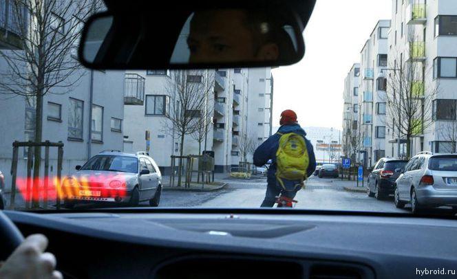 Volvo наградили за технологию обнаружения велосипедистов