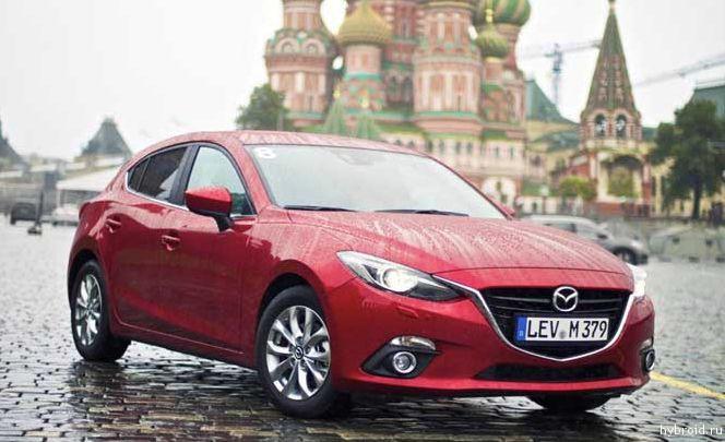 Новая Skyactiv Mazda3