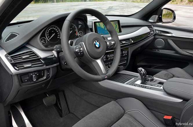Салон BMW M50d M