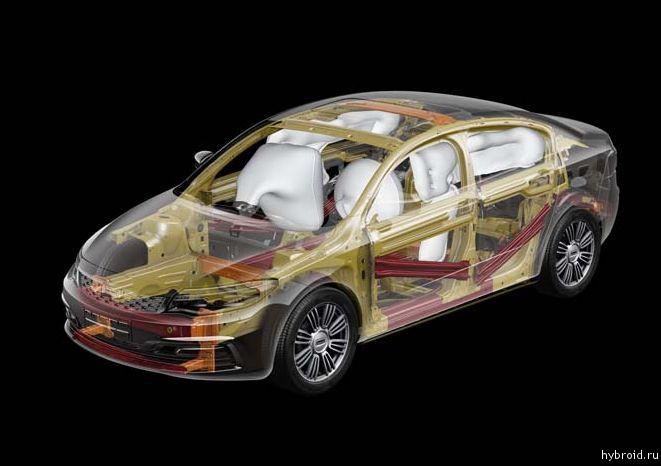 5-ти звездночная безопасность Qoros 3 Sedan