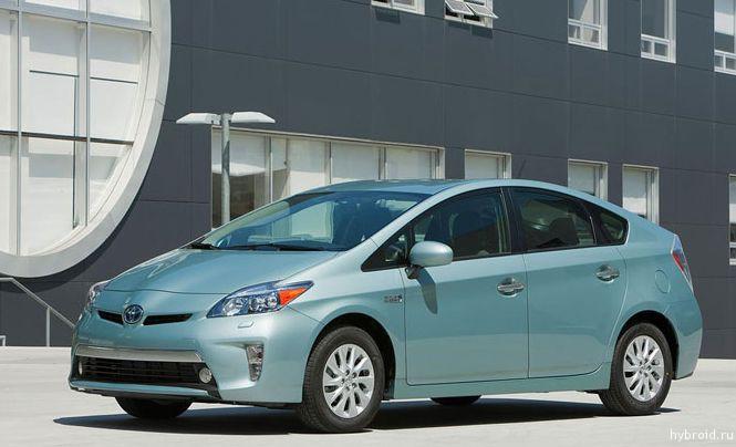 Снижение цен на модели Prius Plug-In 2014 года
