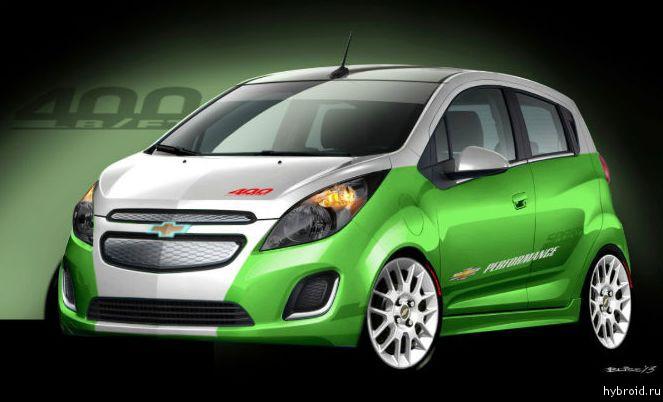 Презентация Chevrolet Spark EV