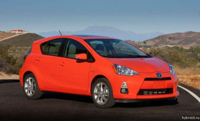 В десятку лучших автомобилей вошли Tesla и Prius C