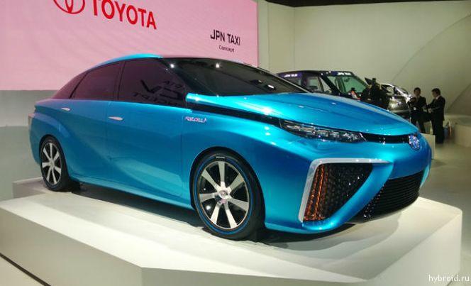 Компания Тойота все не может решить, будет ли новый FCV носить название «Prius»