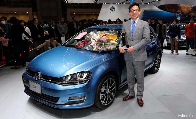 VW Golf назван автомобилем года в Японии
