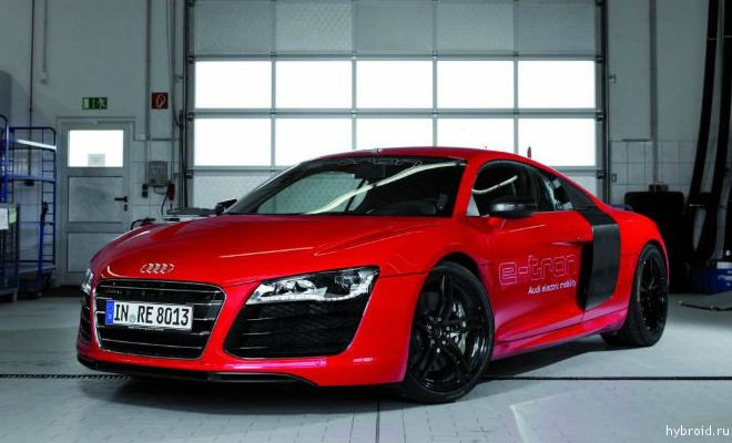 Audi R8 e-tron будет представлен в 2014 году