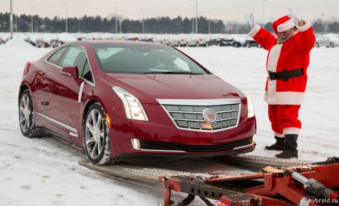 Cadillac ELR 2014 уже в продаже