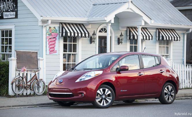 Магнитные провода для Nissan Leaf теперь производятся в Америке