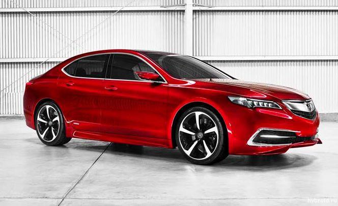 Acura TLX 2015 будет иметь 8- и 9-ступенчатую трансмиссию