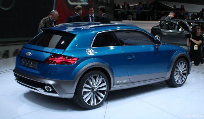Audi представляет концепт Allroad Shooting Brake