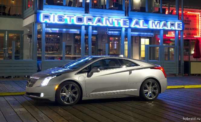 Награда за технологии уходит Cadillac ELR
