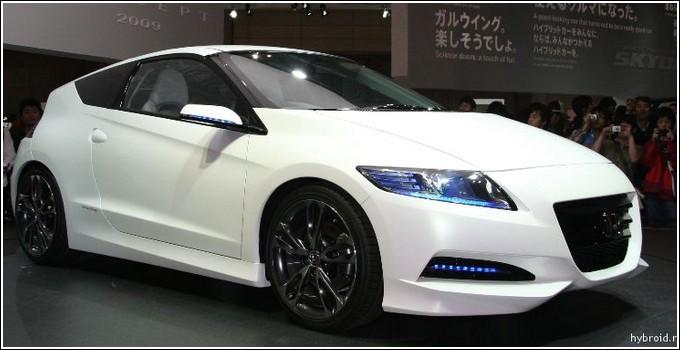 Обновленная Honda CR-Z 2015 в США