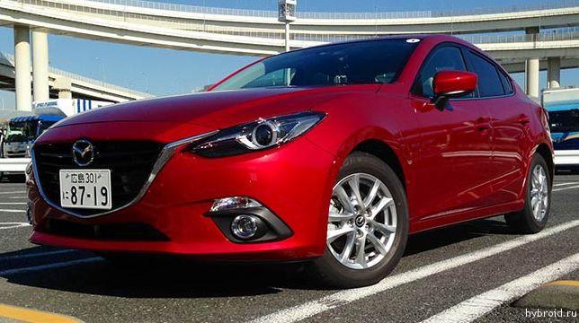 Тест-драй гибридной версии Mazda 3