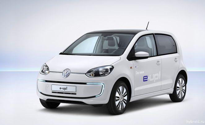Электромобиль VW e-up!