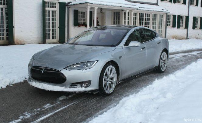 Обзор электромобиля Tesla Model S